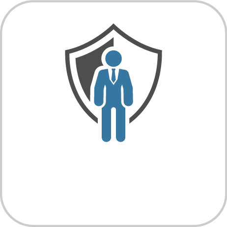Shield for and link to Business Protection Information